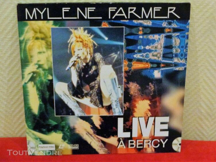 "Mylene farmer laser disc ""live a bercy"""