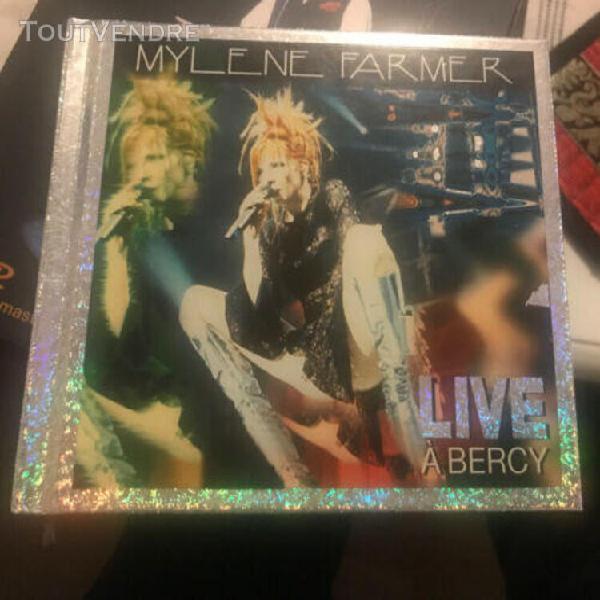 Mylene farmer live a bercy double cd - pochette hologramme a