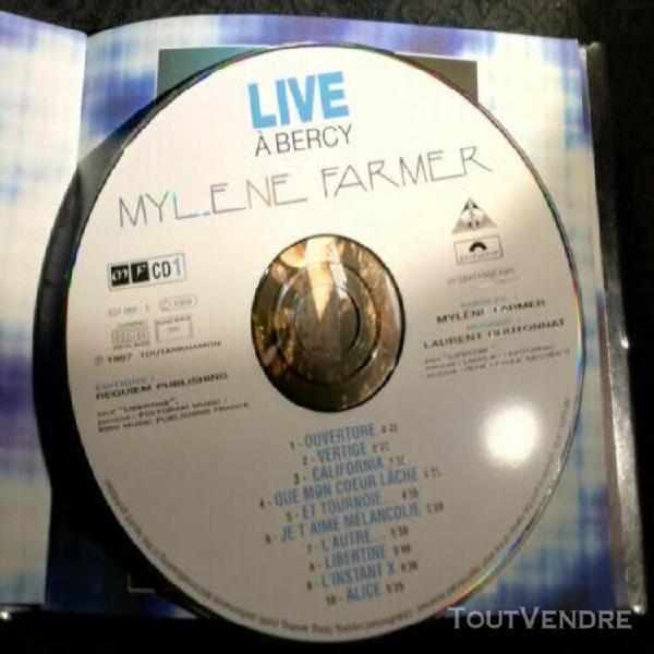 Mylene farmer- live à bercy