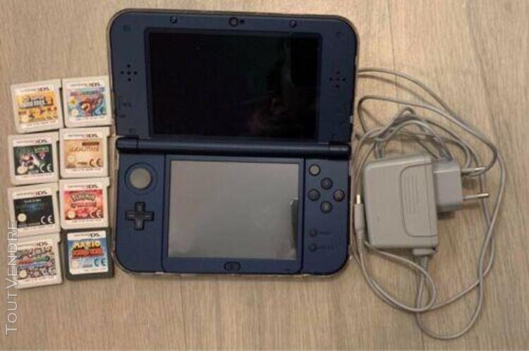 Nintendo 3ds xl + 8 jeux