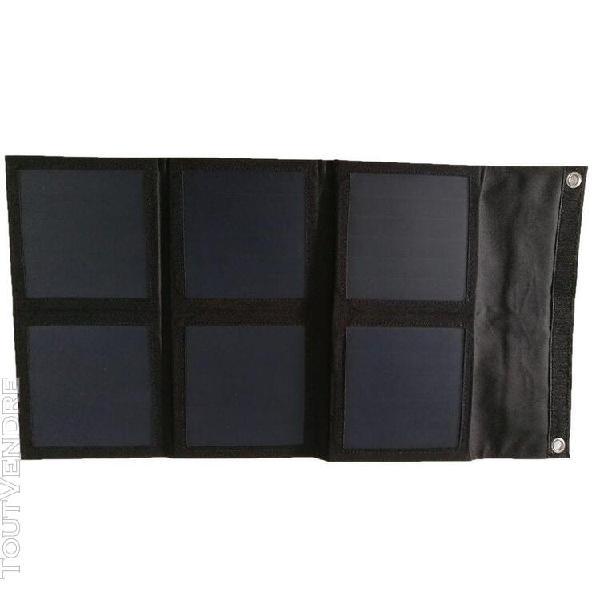 Panneau solaire pliable 21w flexible monocristallins camping