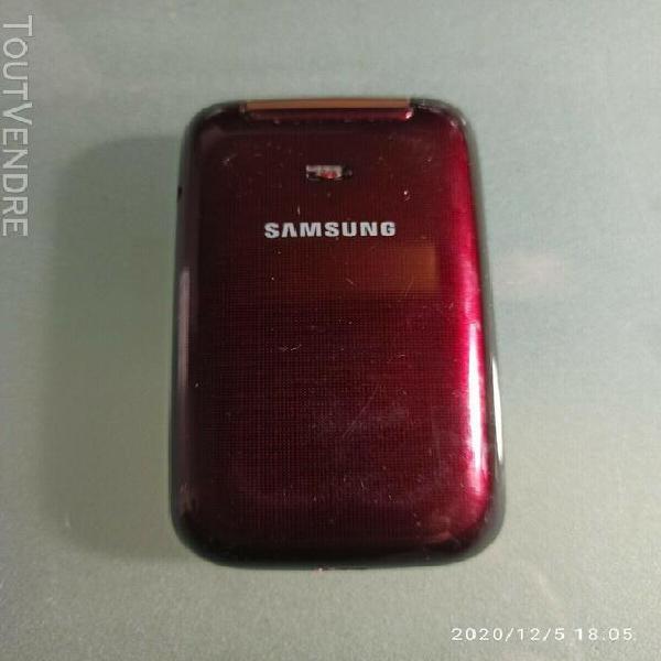Téléphone mobile samsung gt c3590 - couleur: rouge -