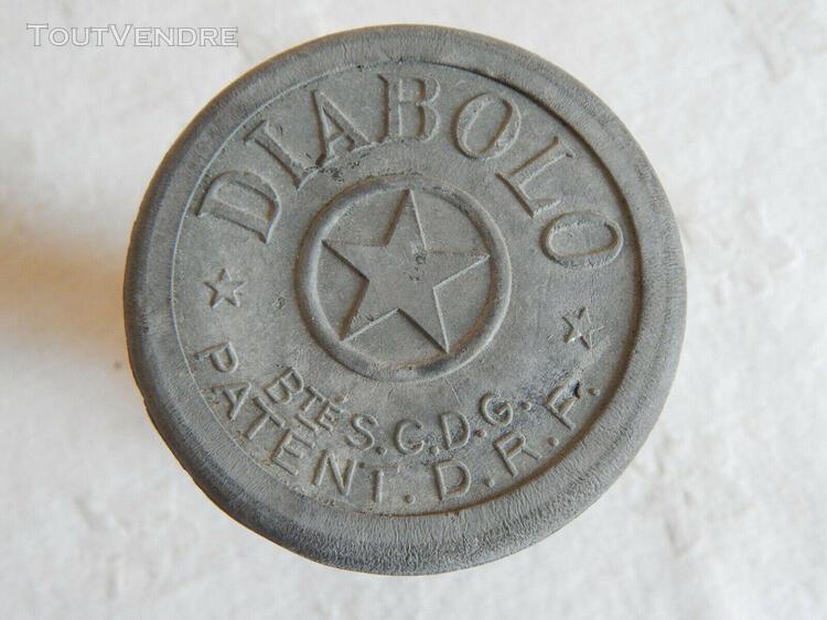 Ancien diabolo (bté sgdg - patent drp) - jouet ancien