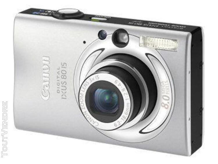 Appareil photo compact canon digital ixus 80 iscompact - 8.0