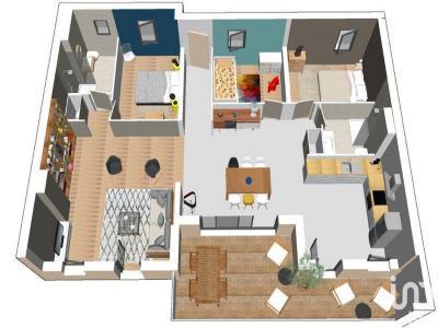 Appartement à vendre agde 4 pièces 102 m2 herault