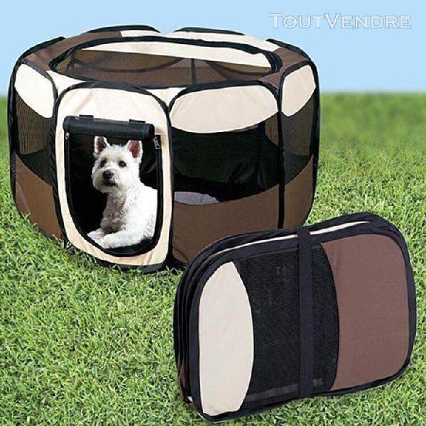 Enclos pour animaux pliable parc à chiots chiens, chats