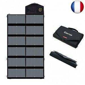 Giaride 12v 18v 80w panneau solaire chargeur sunpower