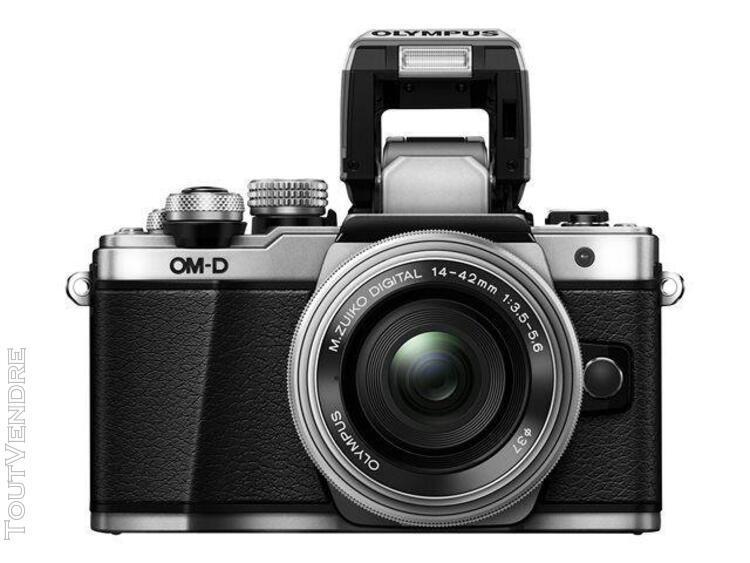 Olympus om-d e-m10 mark ii + m.zuiko digital 14-42 mm et 40-