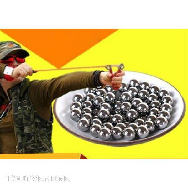 180-190 pièces diamètre 8mm fronde balles en acier chasse