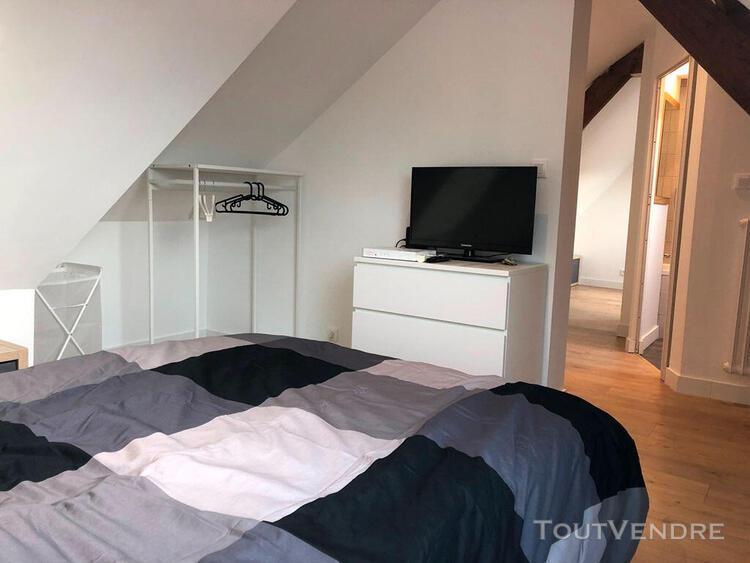 A louer brest capucins chambre meublée de 25m² avec sdb