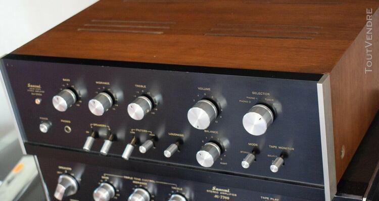 Amplificateur intégré sansui au555a de 1971
