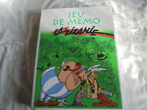 """Jeux asterix """" jeu de mémo """" éditions atlas la zizanie"""