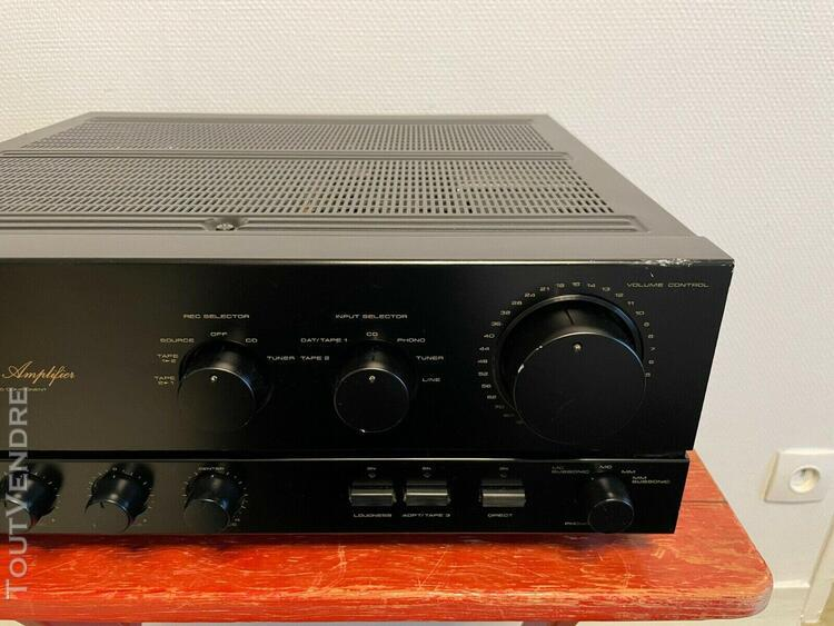 Pioneer a-676 stereo integrated amplifier amplificateur