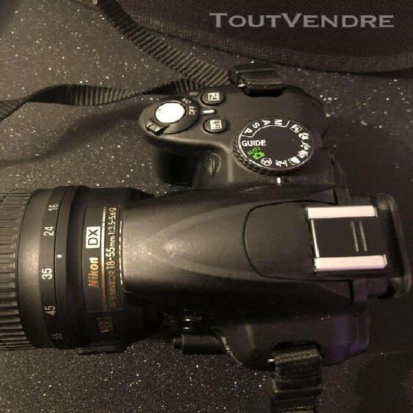 Nikon d3000 appareil photo numérique objectif 18/55 -