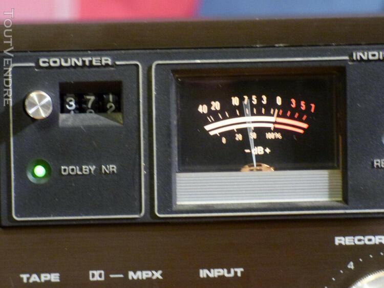 Superbe platine cassettes vintage tape deck dual c810 foncti