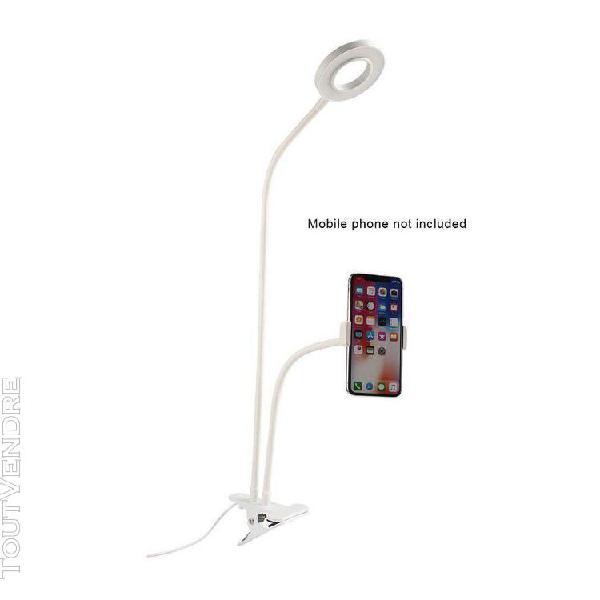 Cell phone mobile holder photo studio selfie led light ring