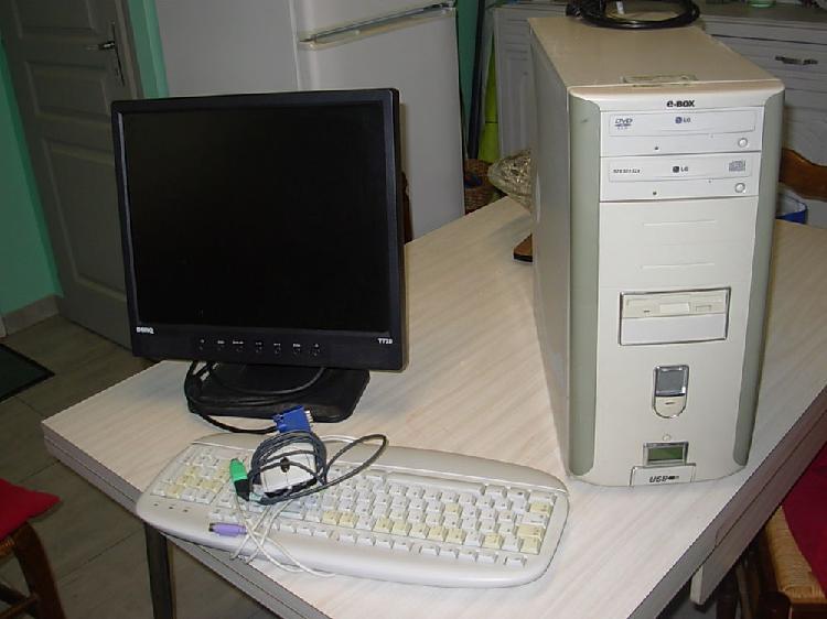 Ecran ordinateur clavier plus tour occasion, laurac (11270)