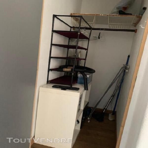 Location t1 meublé - paris 14ème