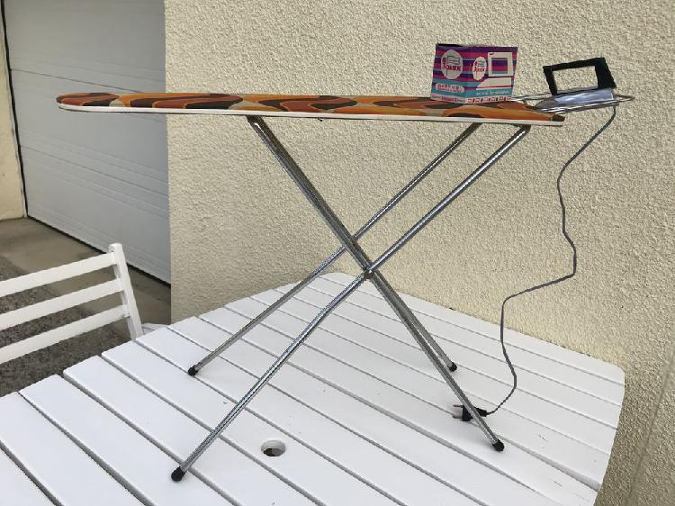 Table et fer à repasser vintage occasion, poitiers (86000)