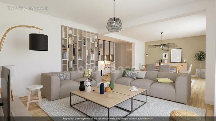 Un bel appartement avec terrasse et jardin privés sur parc