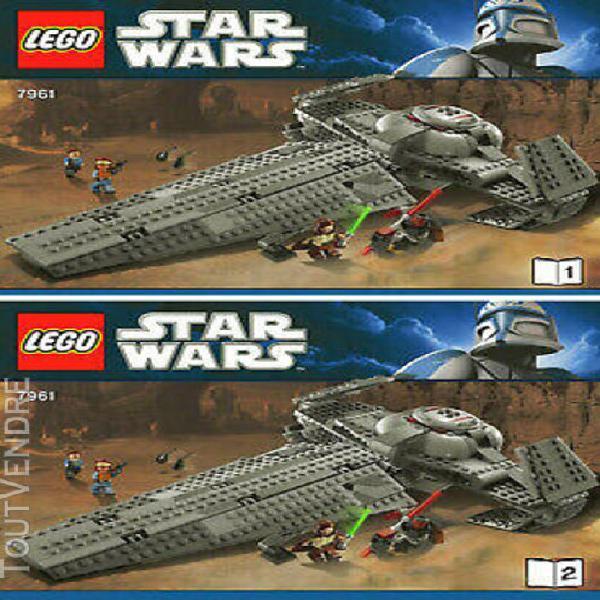Notices originales lego star wars - maul's sith