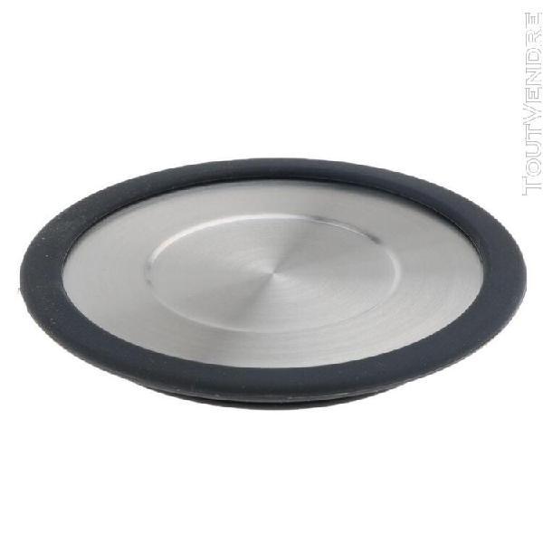 Couvercle d'infuseur à thé passoire filtre en acier