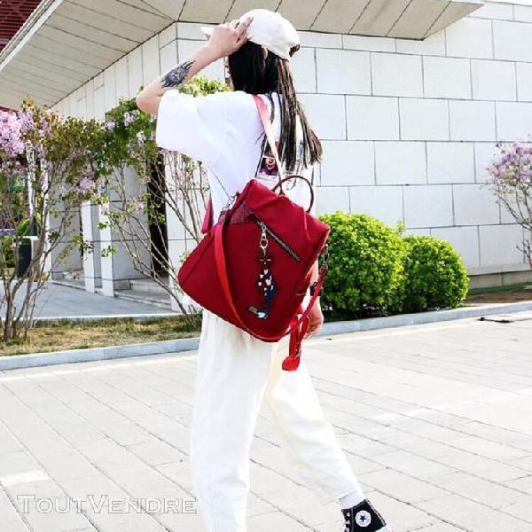 Femmes grande capacité simple sac à dos élégant
