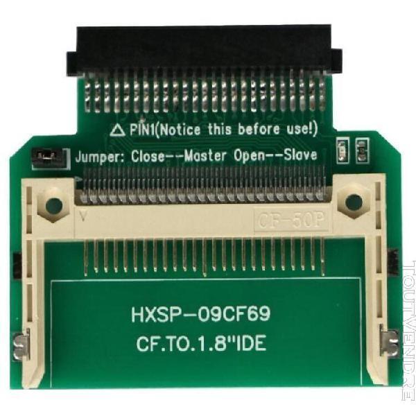 Nouveau cf compact flash card merory à 50pin grille 1,8