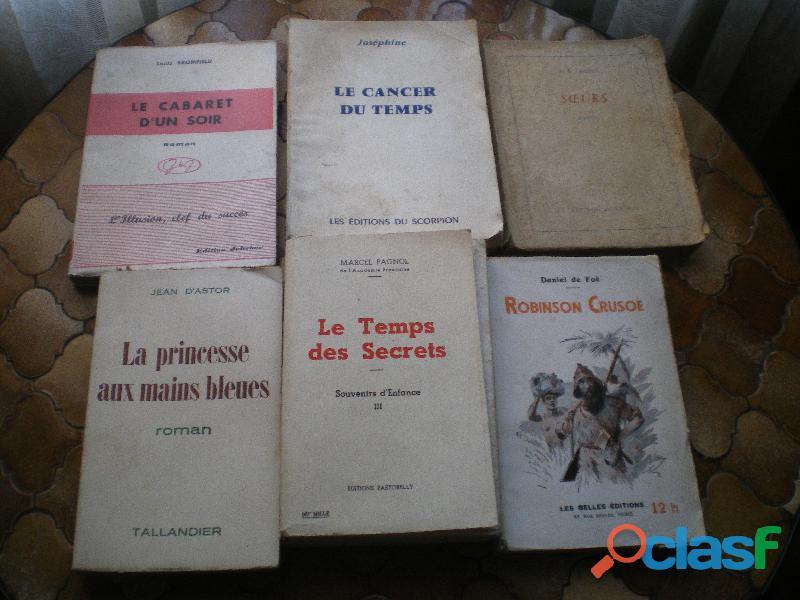 Romans par Marcel Pagnol et Daniel de Foë
