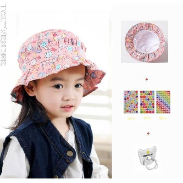 Bébé/enfant été chapeau de soleil salaire anti uv loisir