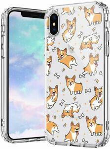 Mosnovo coque iphone xs max, corgi clair design motif
