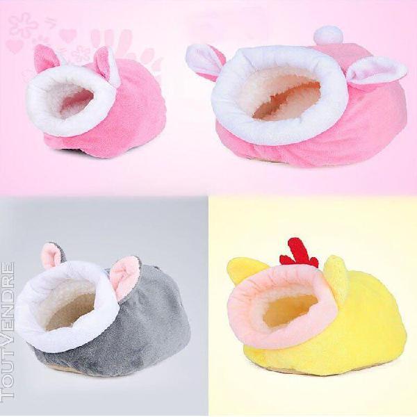 Cage pour animaux de compagnie pour hamster accessoires lit