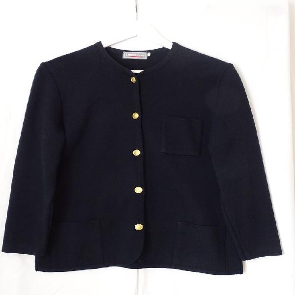 Cardigan femme bleu marine - libre cours -taille 2 occasion,