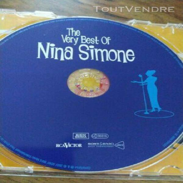 "Cd ""the very best of nina simone"""