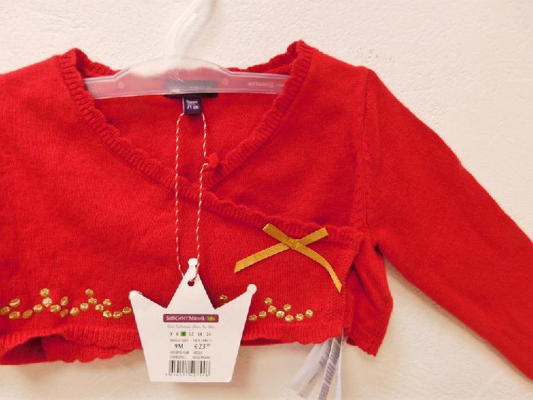 Gilet bébé laine, sergent major, neuf avec étiquette