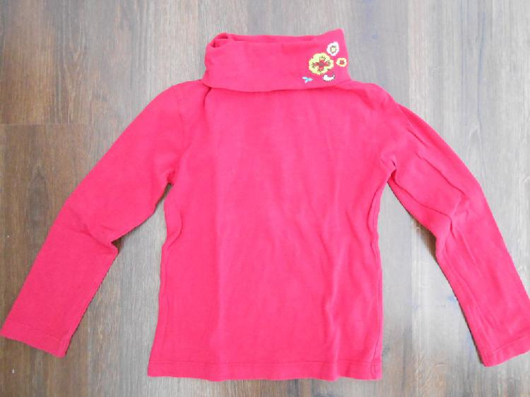 Tee shirt fille col roulé dpam 4 ans occasion, aurillac