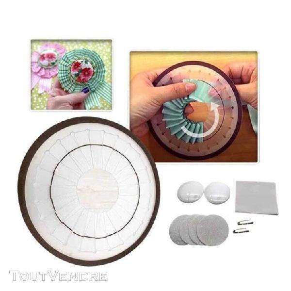 Bricolage floral ruban fait main décoration cadeau