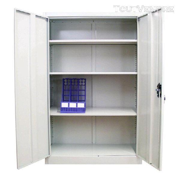 Grande taille 4 couches de bureau en métal 2 portes de