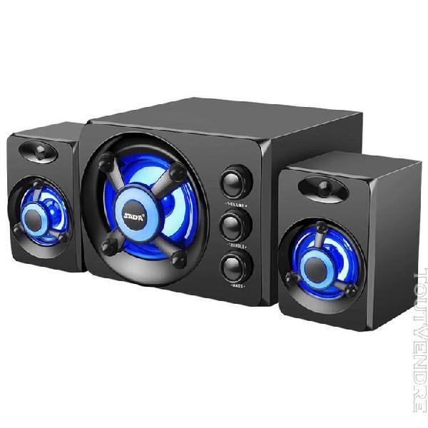 Sada d-208 3 en 1 ensemble de haut-parleurs pour la maison c