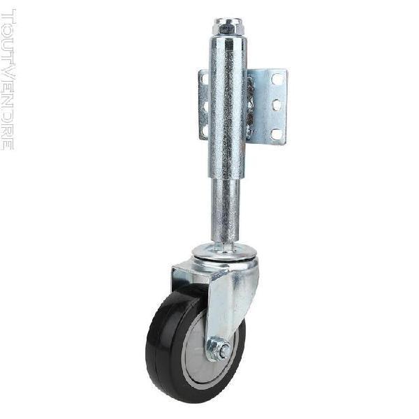4-in roulettes à ressort roue chargée à ressort de porte