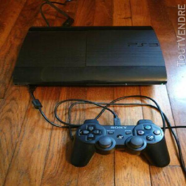 Console sony ps3 slim 500go pack gt6 last of us