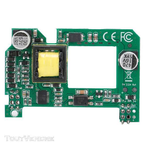 Module poe pour raspberry pi 4b/3b commutateur de routeur co