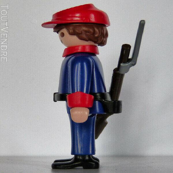 Playmobil western - confédéré - cadet - charleston -