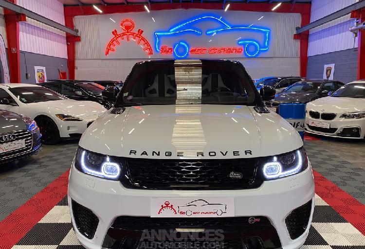Land rover range rover sport svr 5.0 550ch