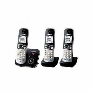 Panasonic téléphone résidentiel dect - tg6823 - trio avec