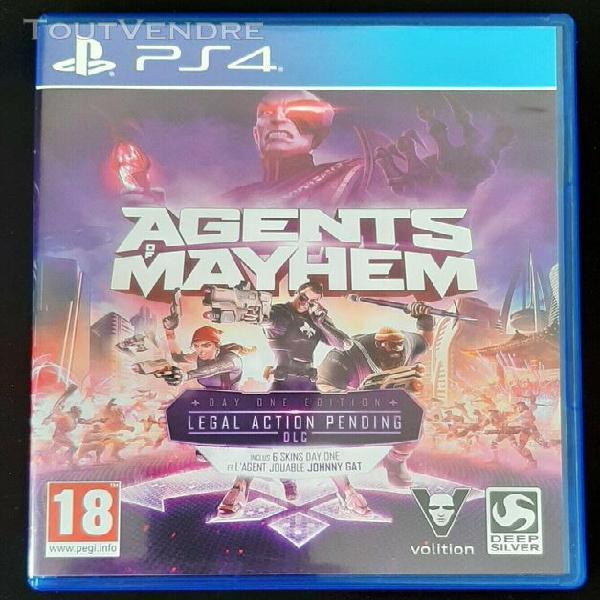 Agents of mayhen - ps4 - trés bon etat - vf