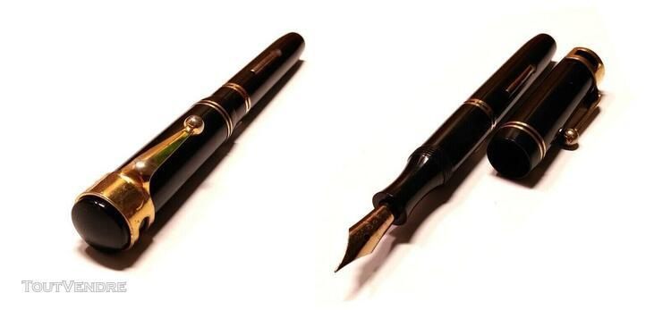French psf/hard rubber/stylo plume/fountain pen/penna stilog