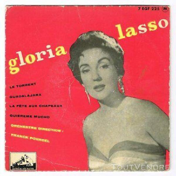 Gloria lasso -45t ep- le torrent-la fête aux chapeaux-lvdsm