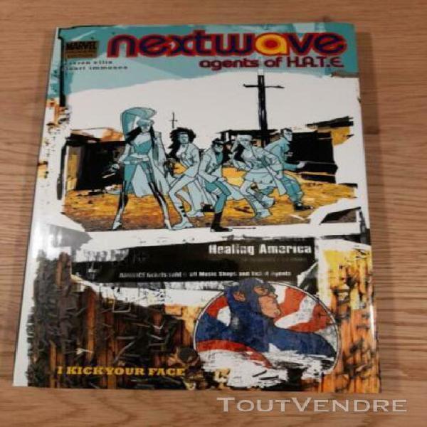 Nextwave, agents of h.a.t.e. vol.2: i kick your face, ellis,