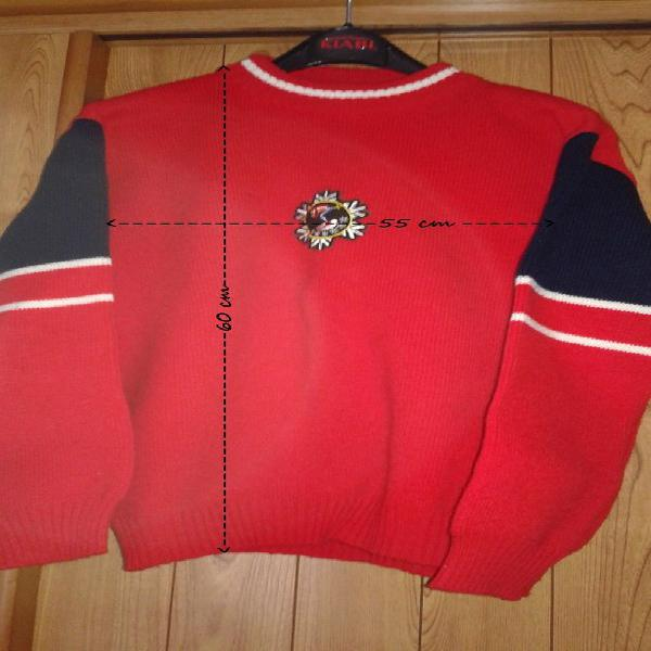 Pull vintage sports d'hiver occasion, rambouillet (78120)
